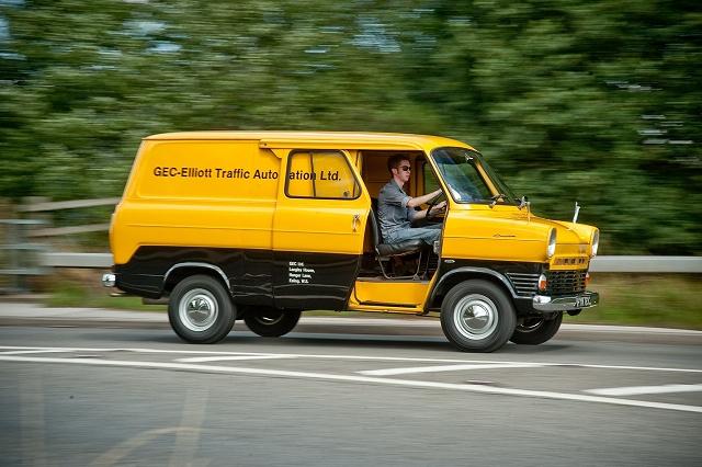Retro drive: MkI Ford Transit. Image by Jamie Lipman.