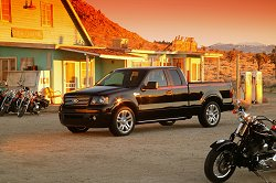 2005 Ford F-150 Harley Davidson edition. Image by Ford.