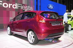 2008 Ford Fiesta. Image by United Pictures.