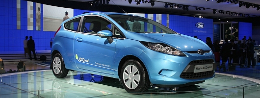 London 2008: Ford Fiesta ECOnetic. Image by Shane O' Donoghue.