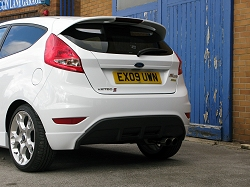 2009 Ford Fiesta Zetec-S by Mountune. Image by Mark Nichol.