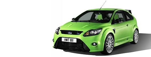 Mean green street fighting machine - new RS. Image by Ford.