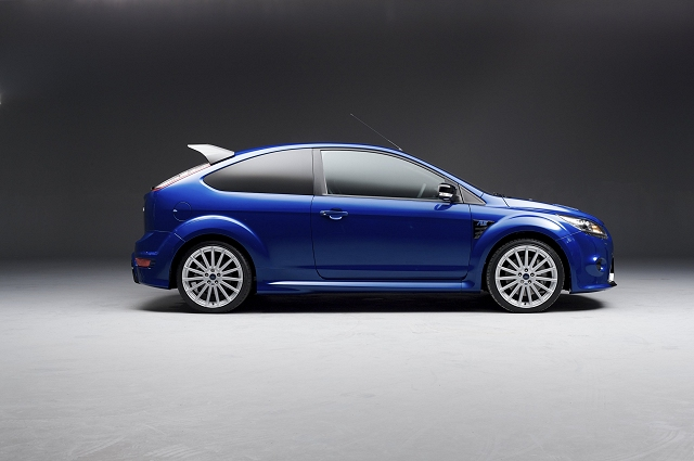Ford releases new images of the Focus RS. Image by Ford.