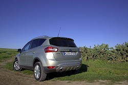 2008 Ford Kuga. Image by Kyle Fortune.