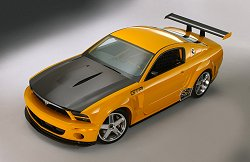 2004 Ford Mustang GTR concept. Image by Ford.