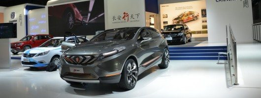 Chang'an heads Chinese contingent at IAA. Image by Newspress.