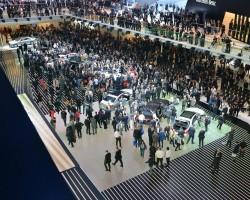 2013 Frankfurt Motor Show. Image by Newspress.