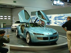 2003 Bertone Birusa concept car. Image by Adam Jefferson.