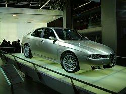 2004 Alfa Romeo 166. Image by Adam Jefferson.