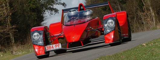 Caparo T1 unleashed (nearly). Image by Caparo.
