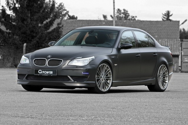 BMW V10 gets a boost with G-Power. Image by G-Power.