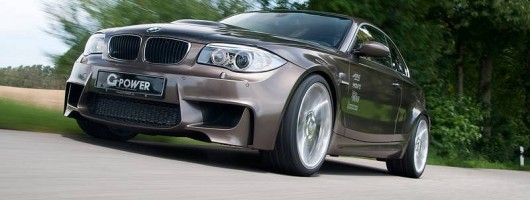 600hp BMW 1 M Coupé on the way. Image by G-Power.