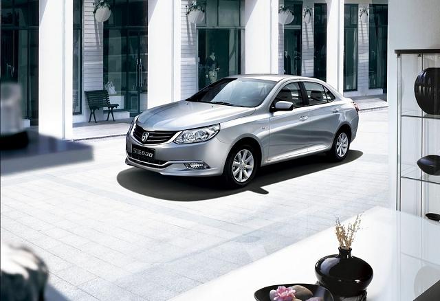 GM Baojun 630 makes debut. Image by General Motors.