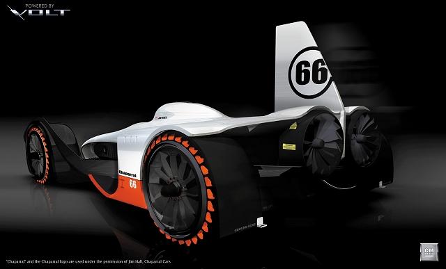 GM Chaparral Volt. Image by GM.