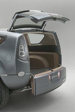 2005 GMC Graphyte concept. Image by GMC.