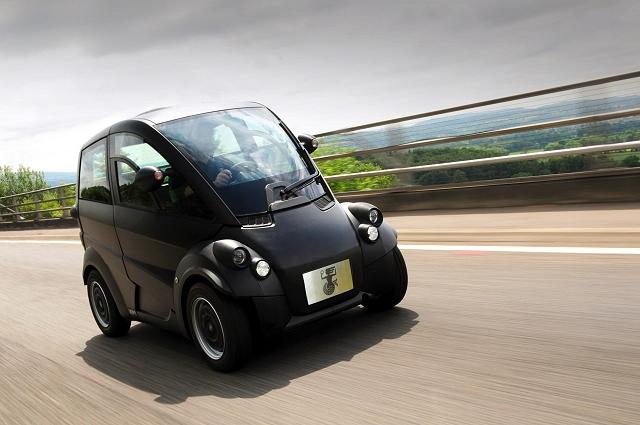 McLaren F1 designer reveals new baby. Image by Gordon Murray.
