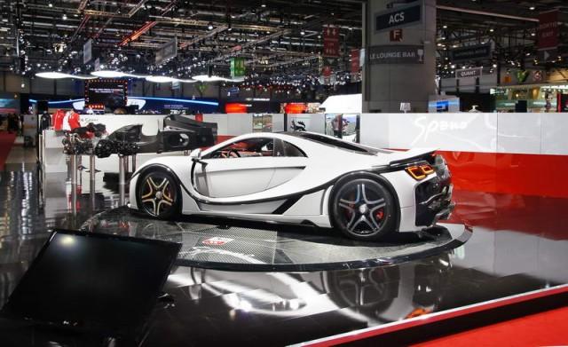 New Spanish supercar in Geneva. Image by GTA.