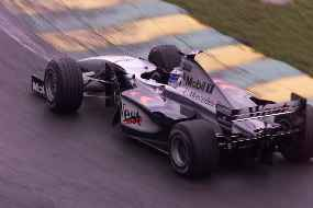 Hakkinen pulled out his now routine stunning qualifying performance to snatch his 2nd pole of the season