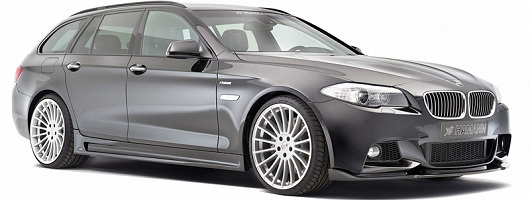 New styling kit for the 5 Series Touring. Image by Hamann.