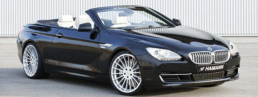 Faster: Hamann BMW 6 Series Convertible. Image by Hamann.