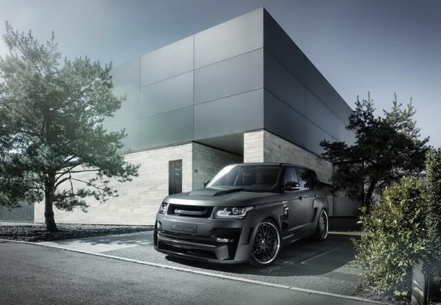 Range Rover Sport gets Hamann'd. Image by Hamann.