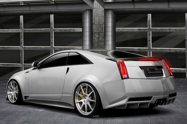 The 1,000bhp Cadillac. Image by Hennessey.