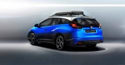 2015 Honda Civic Tourer Active Life concept. Image by Honda.