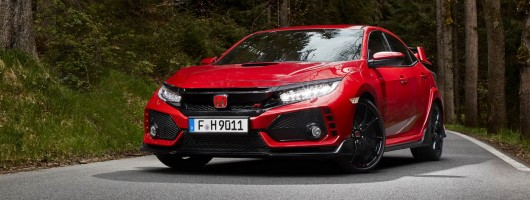 First drive: Honda Civic Type R. Image by Honda.