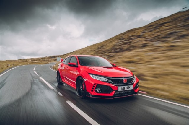 Driven: Honda Civic Type R. Image by Honda.