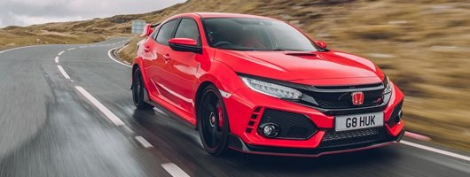 Driven: Honda Civic Type R. Image by Honda.