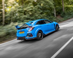 Updated Honda Civic Type R tested in UK. Image by Honda UK.