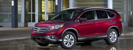 Honda CR-V debuts in LA. Image by Honda.