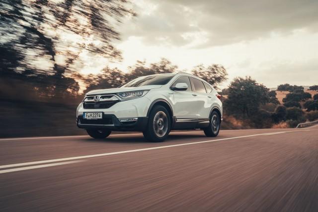 First drive: Honda CR-V Hybrid. Image by Honda.