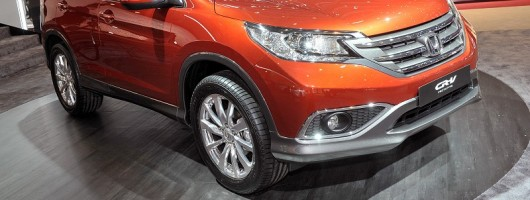 Geneva 2012: Realistic Honda CR-V prototype. Image by United Pictures.