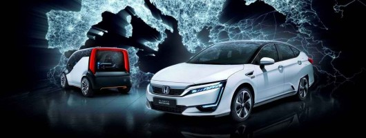 Honda promises to catch up on EVs. Image by Honda.