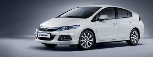 Honda Insight improved for 2012. Image by Honda.