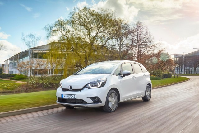 Honda Jazz to gain front-centre airbag. Image by Honda.