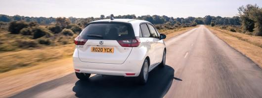 First drive: Honda Jazz e:HEV. Image by Honda UK.