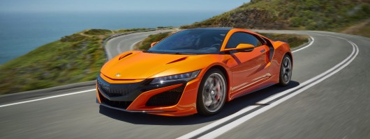 Honda tweaks NSX supercar for 2019MY. Image by Honda.