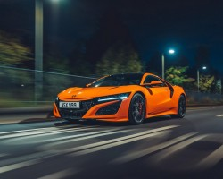 Honda NSX (2019MY) UK test. Image by Mark Riccioni.
