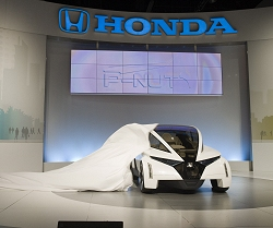 2009 Honda Personal-Neo Urban Transport (P-NUT) concept. Image by Honda.