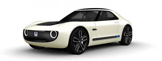 Gorgeous Honda Sports EV is our Tokyo star. Image by Honda.