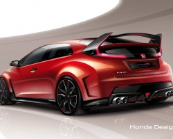 2014 Honda Type R Concept. Image by Honda.