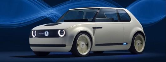 Honda kicks off electric future with Urban EV Concept. Image by Honda.