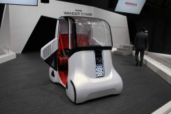 2015 Honda Wander Stand concept. Image by Newspress.