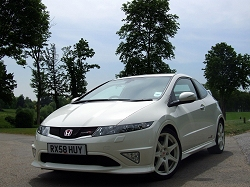 2009 Honda Civic Type-R. Image by Dave Jenkins.