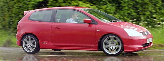 2003 Honda Civic Type R review. Image by Mark Sims.