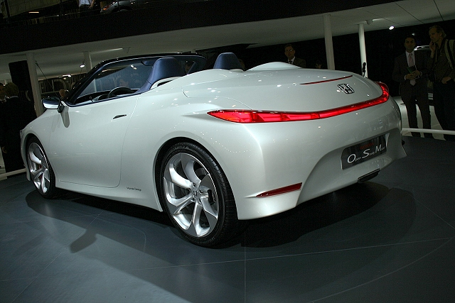 The Car Enthusiast Image Gallery 2008 Honda Osm Concept