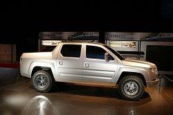 2005 Honda Ridgeline. Image by Honda.