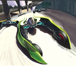 2025 Honda The Great Race concept. Image by Honda.